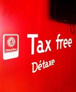 détaxe de TVA, achats hors taxes, remboursement de TVA