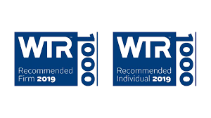 Recommended WTR 1000 2018